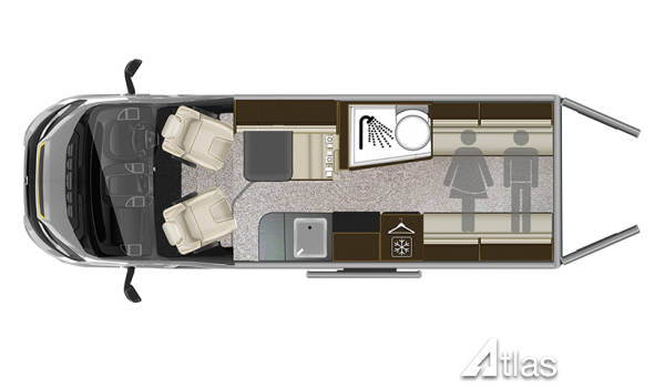 Tribute 669 Campervan for sale 14-16k miles5