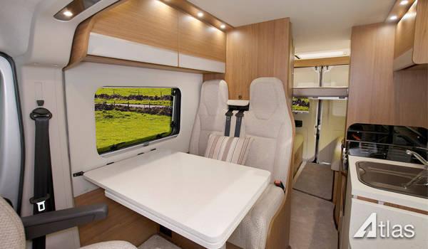 Tribute 669 Campervan for sale 14-16k miles7